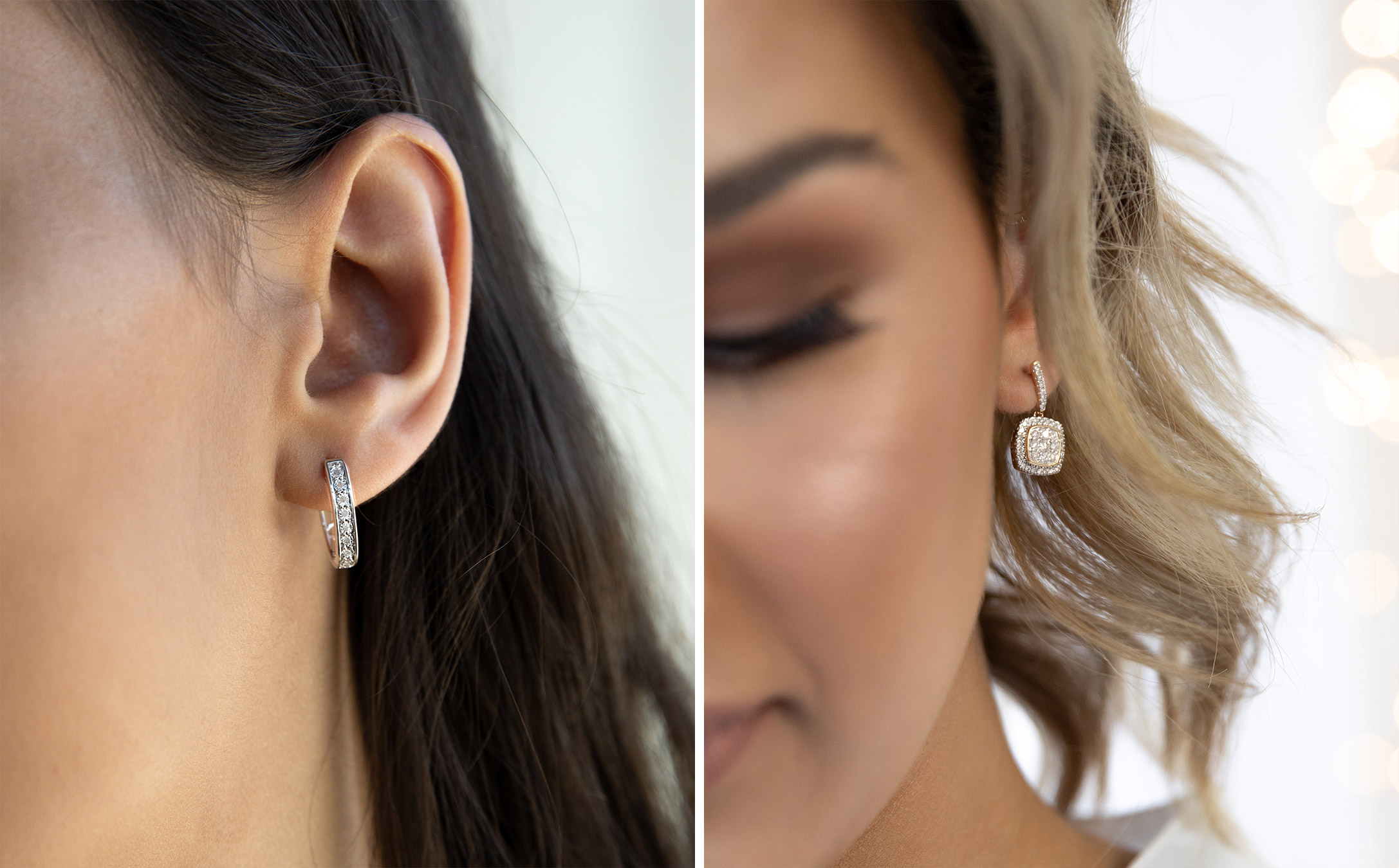 diamond style guide: how to style earrings
