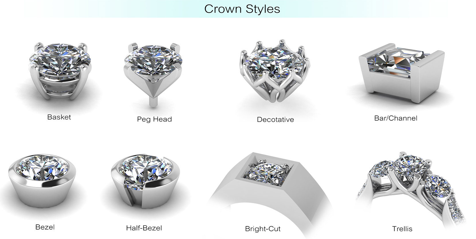 diamond buying guide: know your setting
